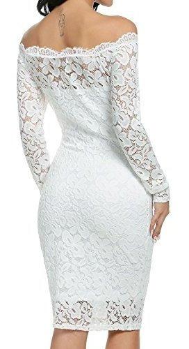 vestidos elegantes en encaje para fiestas