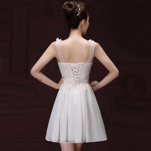vestidos elegantes ocasión especial con tirantes coqueto dos