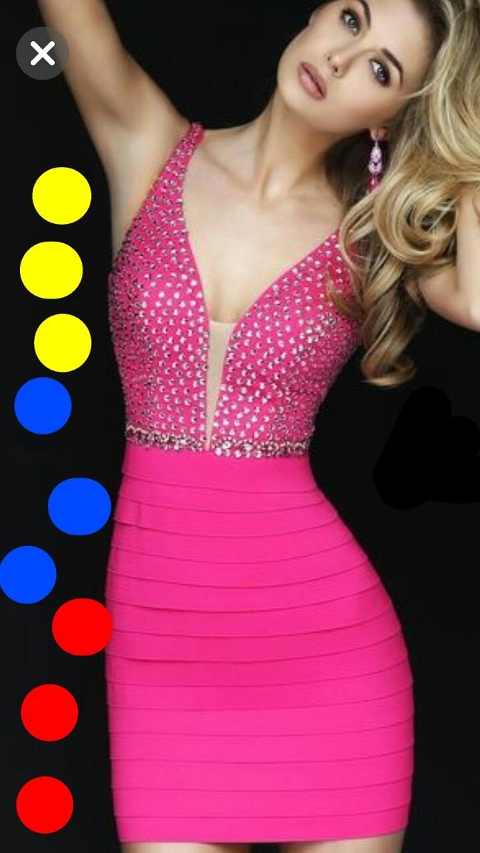 2c27d5c27 vestidos elegantes para fiesta de noche con brillos y blonda. Cargando zoom.