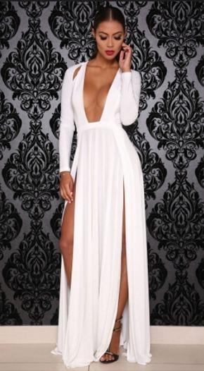 8f2b73fbc11 Vestidos Elegantes Sexys Para Dama Fiesta Eventos Gala - Bs. 98.450 ...