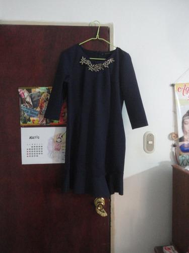 vestidos elegantes zara basic talla m negociable