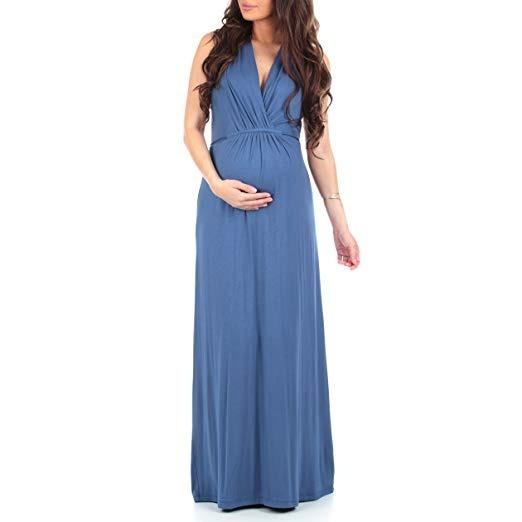a2649b9e Vestidos Embarazo Mujer Ropa Maternidad Baby Shower Elegante ...