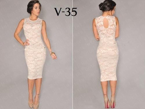vestidos encaje  coctel elegantes  somos fabricantes