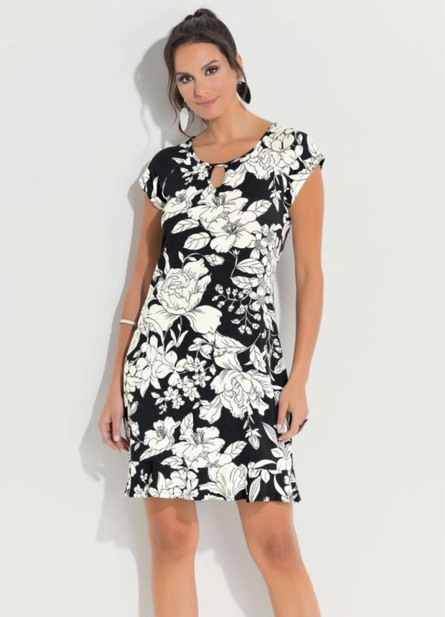 0439ddaeb vestidos femininos plus size com babado na barra floral. Carregando zoom.