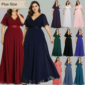 15a645263136 Vestido Plus Size Festa Curto Luxo - Vestidos com o Melhores Preços no  Mercado Livre Brasil