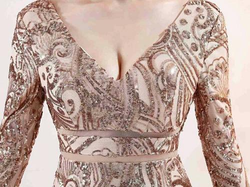 vestidos femininos renda formatura festa luxo night baile
