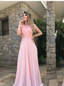 9f9da9fdd Vestido De Casamento Convidada Renda no Mercado Livre Brasil