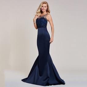 16425f9a6 Vestido Corte Sirena - Vestidos de Mujer en Mercado Libre Chile