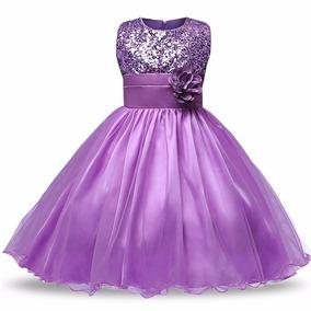 9cf1696fe Vestido Lila Bebe - Vestidos Niñas en Mercado Libre Perú