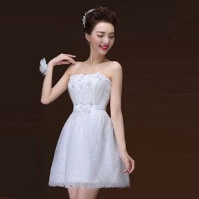 5c875bf28386 Vestido De Graduación Sherri Hill - Vestidos de Mujer Corto Blanco ...