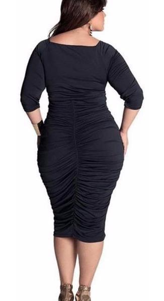 29213c8fd092 Vestidos Fiesta Largos Tallas Extra Grandes Moda Entallados
