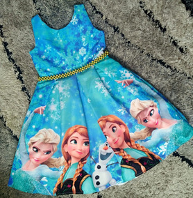 Vestidos Frozen Ig