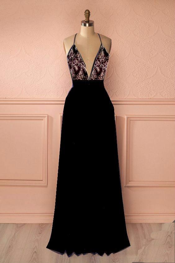 7365944b2d952 vestidos gala largo chifon encaje elegante graduación fiesta. Cargando zoom.
