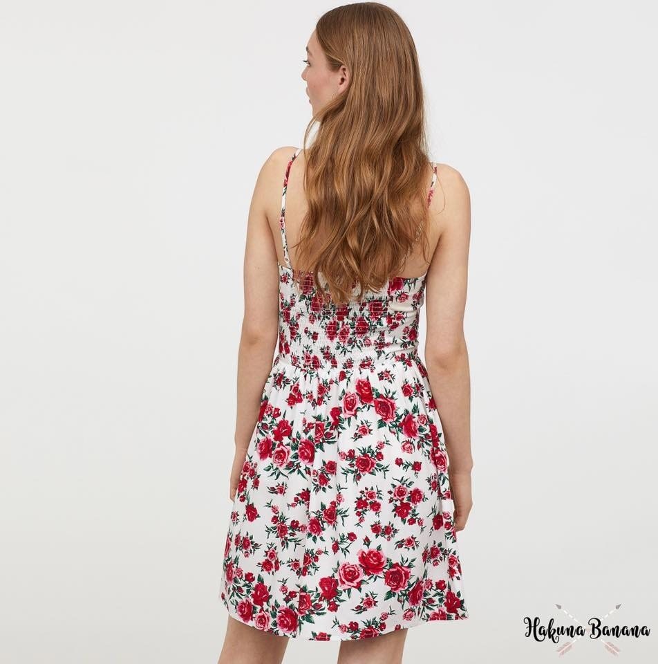 87c21e3e19e vestidos h m flores importados mujer casual verano. Cargando zoom.