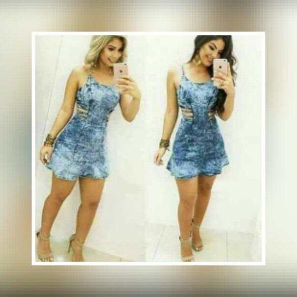 Vestidos da moda jeans