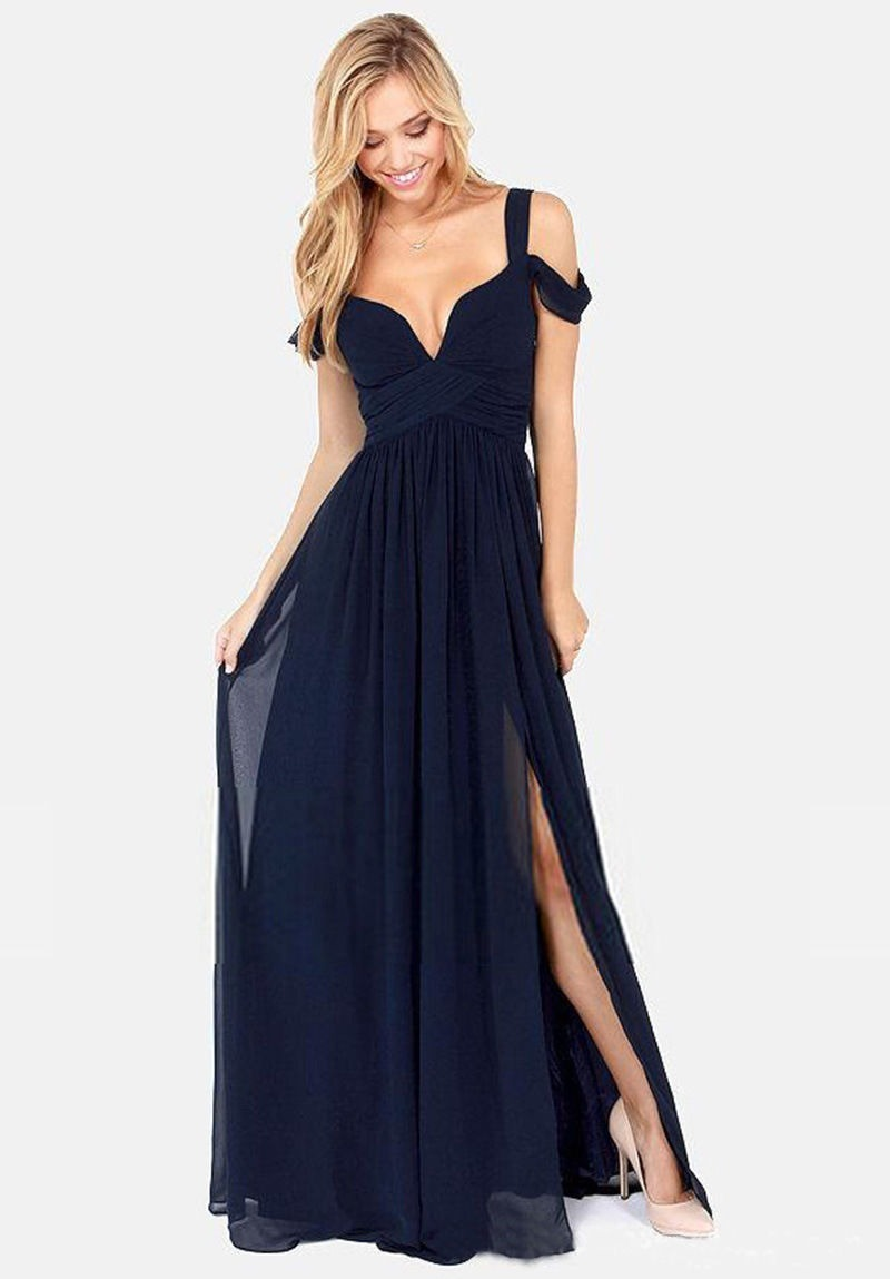 4aab8f227 Vestidos Largos Bonitos Económicos Elegantes Casual -   1.320.000 en ...