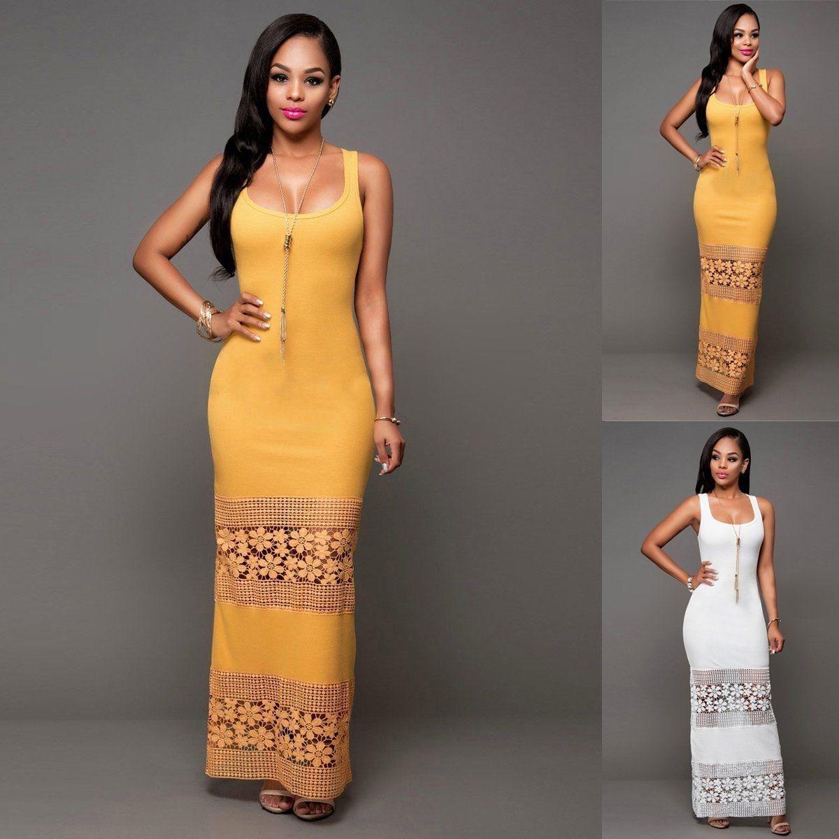 9e0dc53e26ce5 Vestidos largos bonitos económicos elegantes casual jpg 1200x1200 Bonito  vestidos casuales elegantes