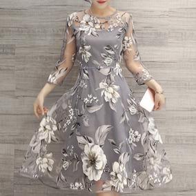 Vestidos Largos Bonitos Fiesta Elegantes Barato Mujer Coctel