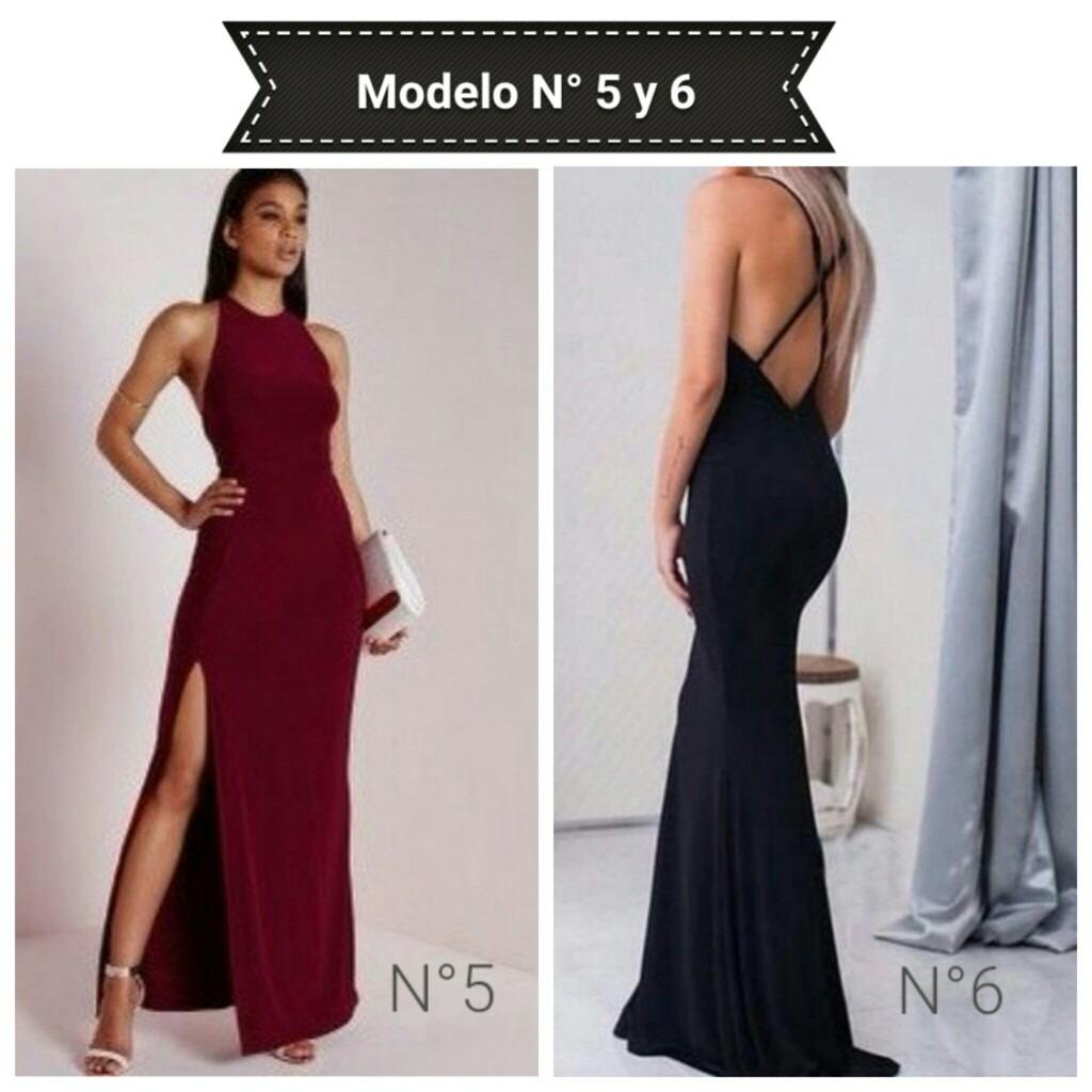Vestidos Largos Casuales - Bs. 1.299.999,00 en Mercado Libre