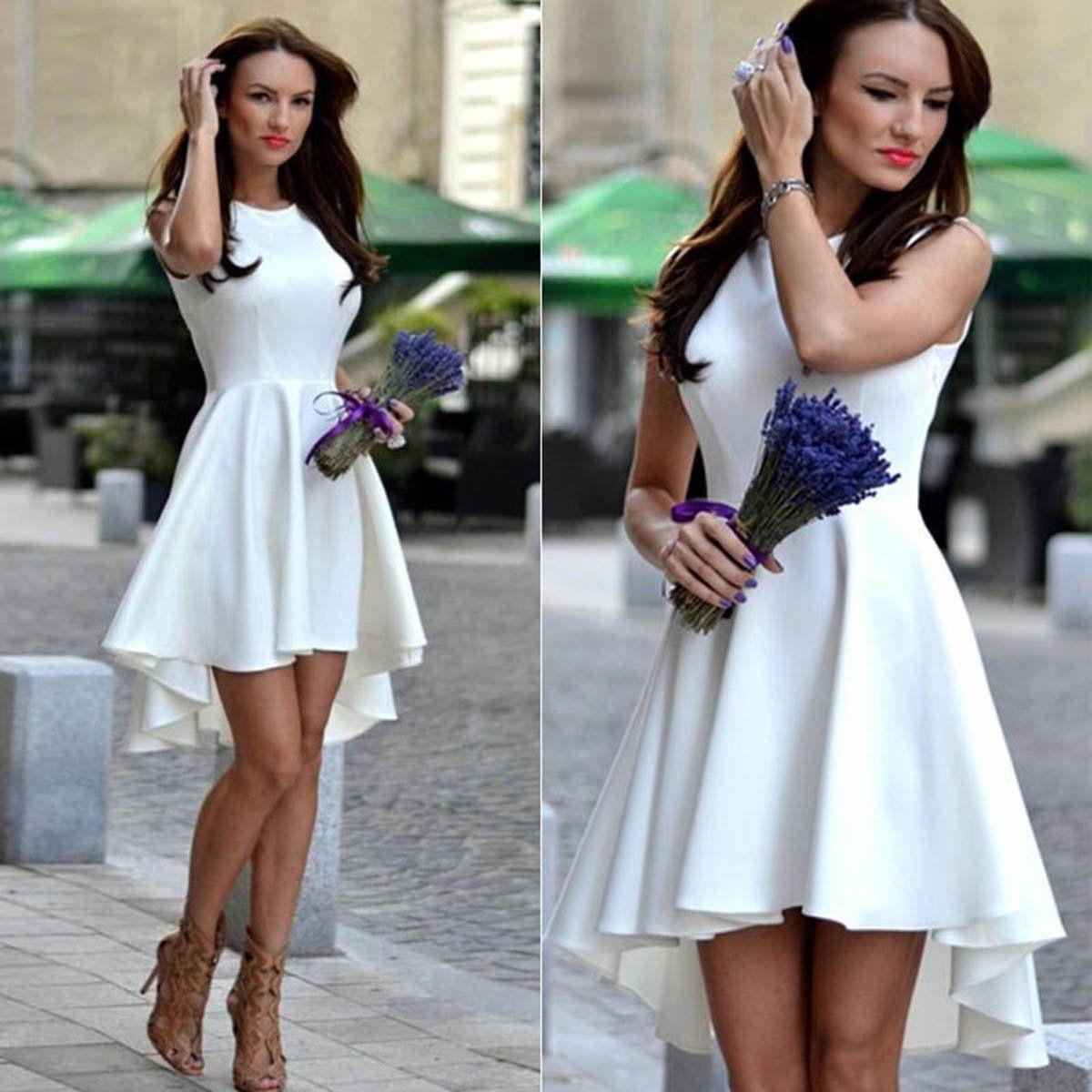 Vestidos casuales para boda de dia