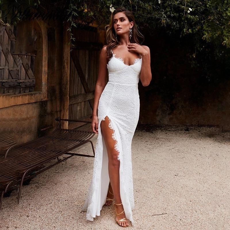 200 Largos Blanco De Casamiento Importado5 Vestidos Fiesta 00 35Rc4AjLq