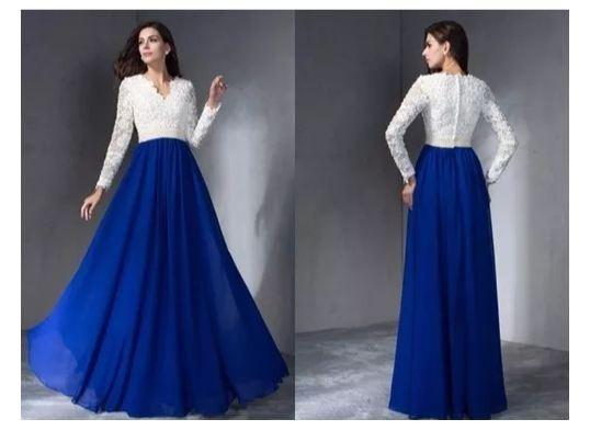 Vestidos largos y bellos