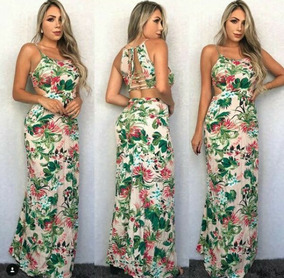 Imagenes de vestidos largos floreados