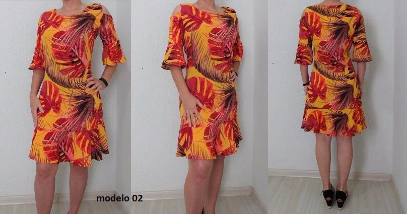 b828051f75 vestidos lindos de verão e executivo- moda evangélica. Carregando zoom.