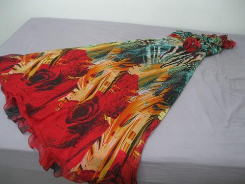 vestidos longo  semi novo novinho muito lindo