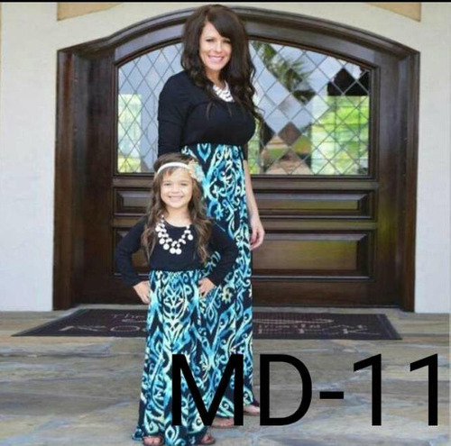 vestidos madre e hija elegantes casual precio por ambos