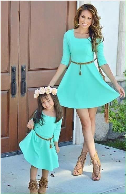 d7294f14a755 Vestidos Madre Y Hija-ropa Madre -vestidos De Nena-padre