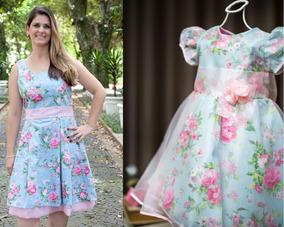 80da221bcc1be9 Vestidos Mae E Filha Iguais