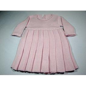 b5a069e021aaa Vestido Trico Bebe - Roupas de Bebê no Mercado Livre Brasil