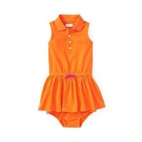 90a52e00b9991 Vestido Ralph Lauren Bebe - Vestidos de Bebê no Mercado Livre Brasil