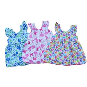 a4a8fac698 Lote De Vestidos Infantil Faquini - Bebês no Mercado Livre Brasil