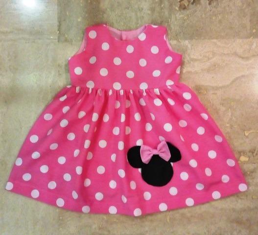Vestidos Minnie Y Fiesta Para Niñas Talla 3 A 6 Meses