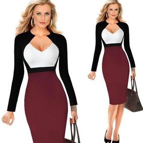 467c262654 Vestidos De Moda Con Toc - Vestidos de Mujer Largos en Mercado Libre ...
