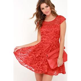 04159aff6 Vestido De Encaje - Vestidos de Mujer en Carabobo en Mercado Libre ...
