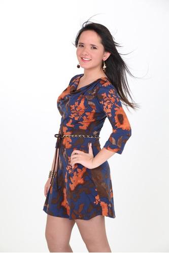 vestidos mujer casuales cortos estampado linda ropa mujer
