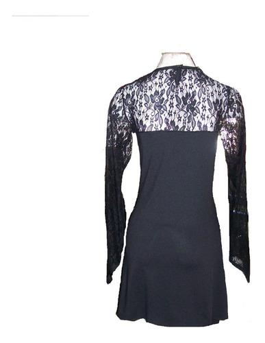 vestidos mujer con encaje mangas talles grandes!!