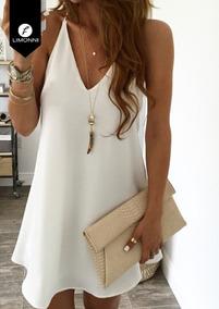 Vestidos Mujer Limonni Bennett Li1325 Cortos Elegantes Dama