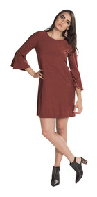 Vestidos Rojos Casuales De Moda Vestidos De Mujer Medio
