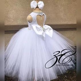 Vestidos Niña Bautizofiestapajecita 1ear Comunion Elegante