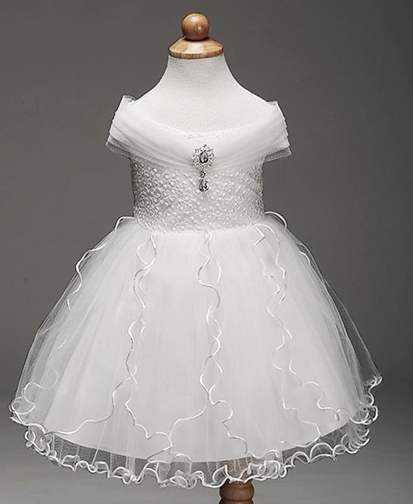 Vestidos de damas de honor de nina