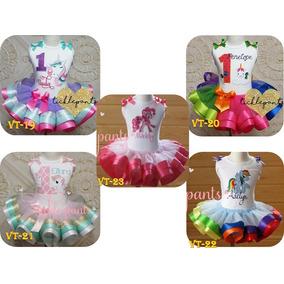 189d7f252 Tutu Vestido Falda Fiesta Minnie Diesney Peppa Unicorni Niña
