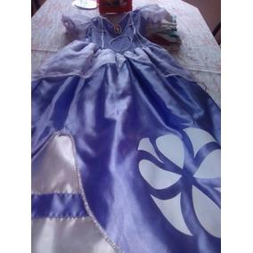 Vestido Princesa Sofia Niña De 3 Años Vestidos Usado En