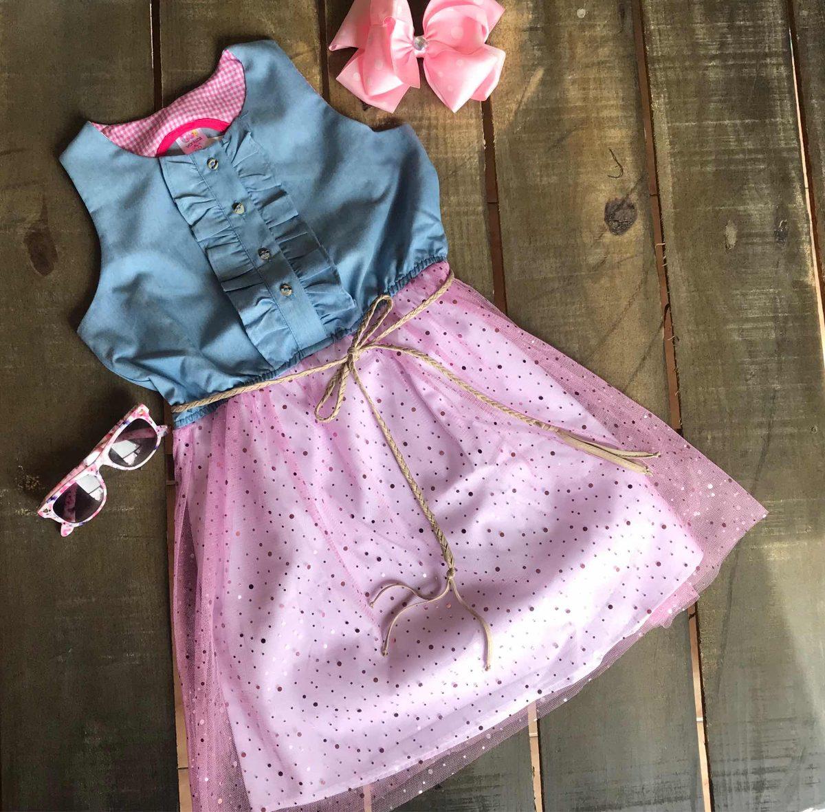 Vestidos Niñas Modernos Casuales A La Moda