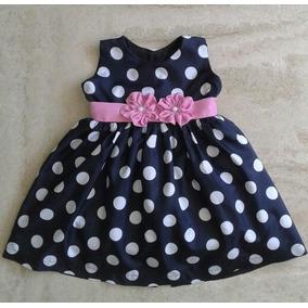 b71a8ac1b Vestidos Minnie Y Fiesta Para Niñas Talla 3 A 6 Meses