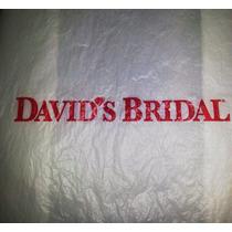 Único-hermoso Vestido Novia Plus David`s Bridal Y Accesorios