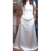Vendo Vestido De Novia Blanco Tipo Corset